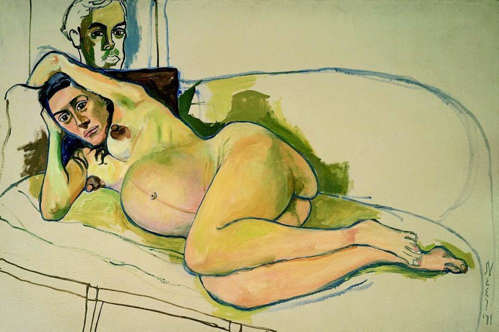 alice-neel-pregnant-woman-1971