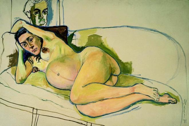 alice-neel-pregnant-woman-1971